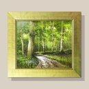 풍요의숲 풍경화 그림액자 유화그림 풍수그림 12호