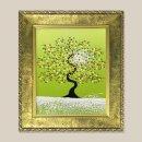 행복한나무 그림액자 유화그림 풍수그림(초록) 3호