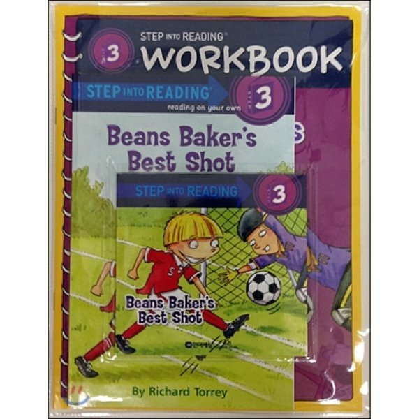Step into Reading 3 : Beans Baker s Best Shot (Book+CD+Workbook)