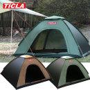 티클라 오토텐트(2~3인용)-캠핑 자동 원터치 팝업텐트
