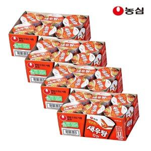 새우탕 컵라면 6개입X4박스 (총24개)