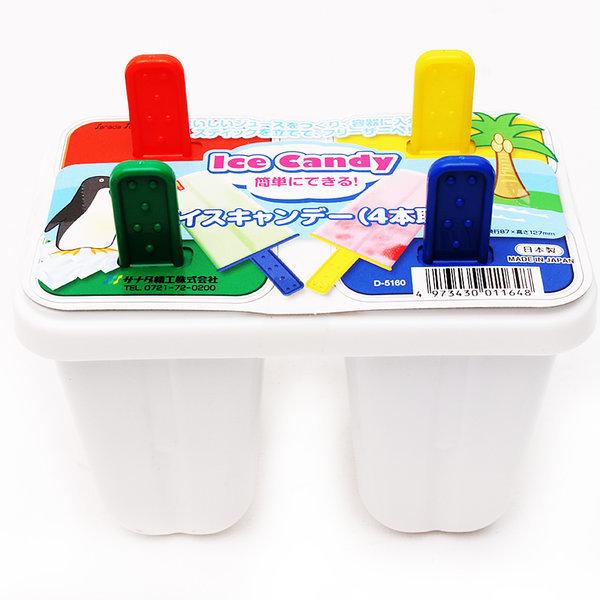 일본 사나다 아이스크림틀 4구 (아이스바 하드바 아이