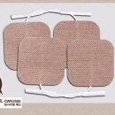 카스 저주파 자극기 안마기 치료기 패드 소형 2조(4장)