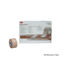 3M  종이반창고 Micropore 살색 1530-1 1530-0 1530-2
