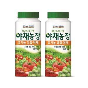 파스퇴르 100% 유기농 야채농장 190ml12개(냉장배송)