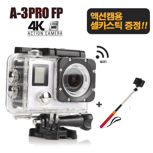 셀카스틱증정/ S2J A-3 PRO FP 4K 오토바이 블랙박스
