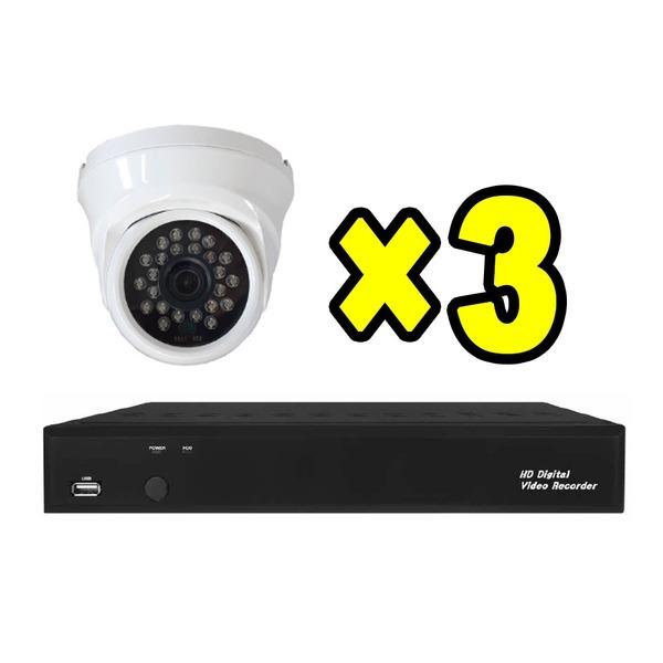 말하는DVR 적외선카메라 녹화기 감시카메라 CCTV세트