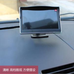 차량용모니터거치기 5-4.3inch지지대 접이식 모니터