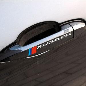 BMW M 퍼포먼스 스티커 앞유리 범퍼 도어 손잡이 본넷