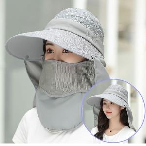 썬캡 여름 모자 챙 여성 여자 썬캡 비치 자외선 차단