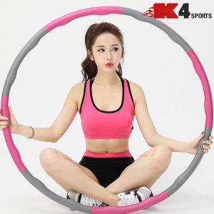 K4스포츠아몸디 뱃살제거 다이어트 코튼훌라후프(K50)