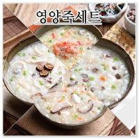 다림죽  영양죽세트(10팩)- 쇠고기야채죽+뽕잎닭죽+게살죽+버섯야채죽