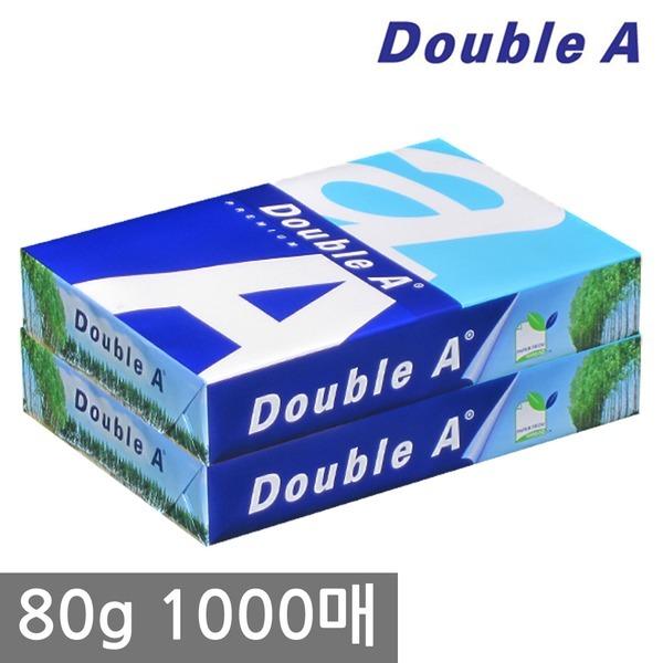더블에이 A4 복사용지(A4용지) 80g 1000매