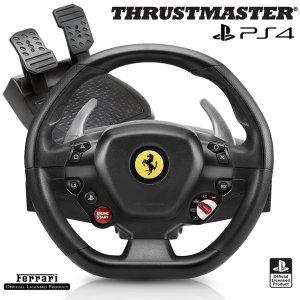 트러스트마스터 T80 FERRARI488 GTB 레이싱휠 (PS4/PC)
