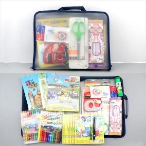 어린이 문구세트 종합장 연습장 색연필 싸인펜 색종이