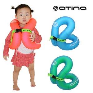 아티나 넥베스트 아동용 튜브형 부력보조복 NECK VEST