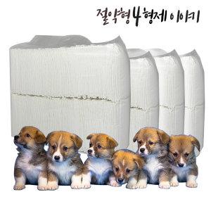 절약형 애견패드400매 20g 화이트패드