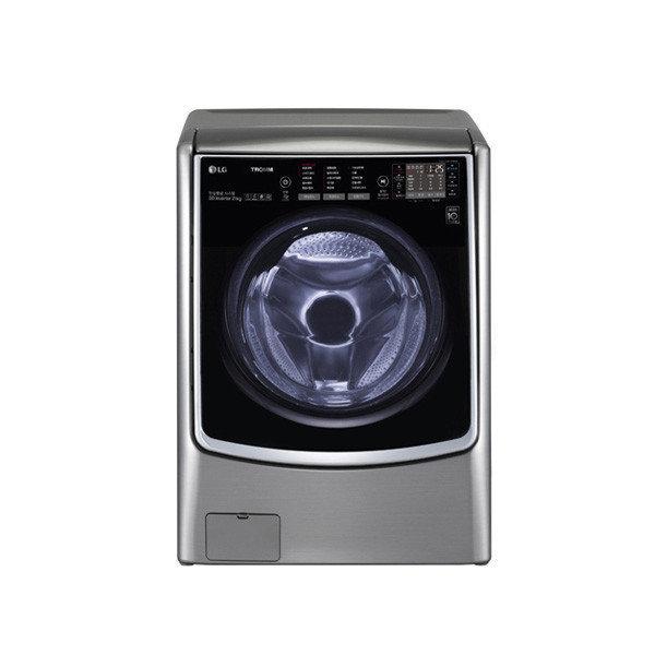 LG전자 트롬플러스 21kg/모던스테인리스 드럼세탁기 F21VBT