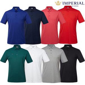 남성 여름 솔리드 카라 티셔츠(I0Y1201)