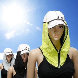 선라솔 자외선차단 햇빛가리개/길이조절 가능/썬캡
