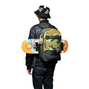 스케이트보드가방 세로고정가능 스케이트�L드백팩