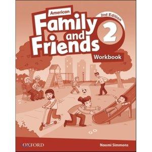 American Family and Friends 2 : Workbook  2 E  Naomi Simmons  Tamzin Thompson  Jenny Quintana
