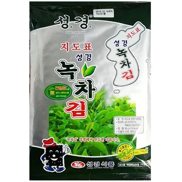 조미 녹차전장김(성경 30g)X20/조미김/대천조미김
