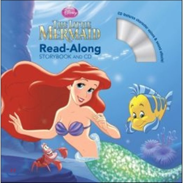The Little Mermaid Read-along Storybook  Disney Book Group