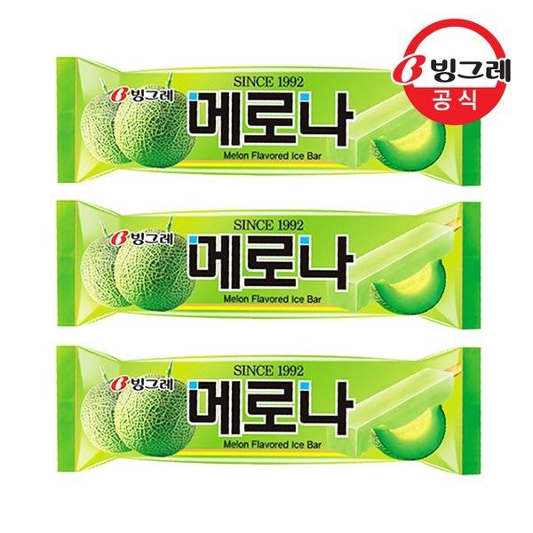 빙그레 메로나 메론 30개입 /아이스크림