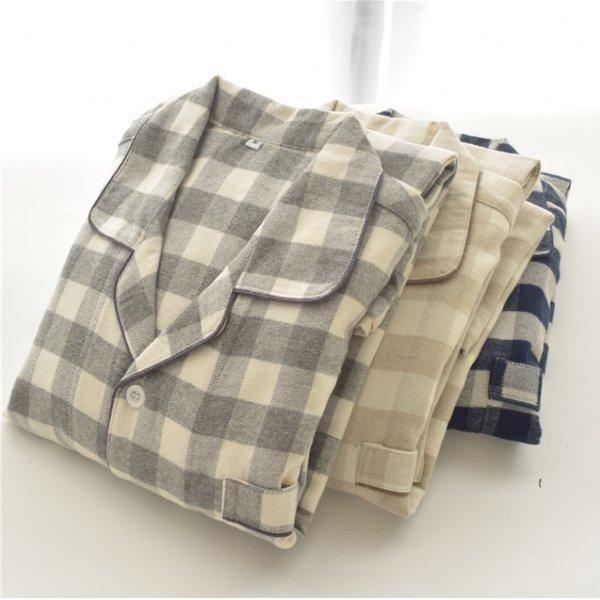 공장당일발송 깅엄체크 파자마 기모 체크 잠옷 홈웨어