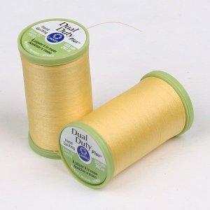 Coats)듀얼듀티 플러스 퀼팅실-7330(노란색)