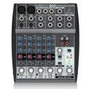 베링거 XENYX802 오디오믹서 소형 아날로그 믹싱콘솔