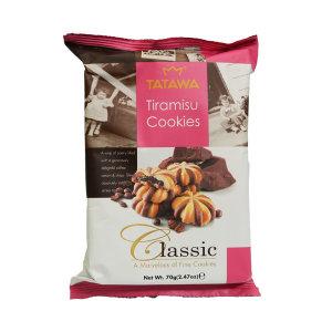 타타와 티라미수 쿠키70g /스낵 담라 런던롤 브라우니