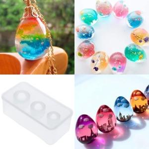 미라클 실리콘 몰드 계란형 모음 UV 레진 에폭시