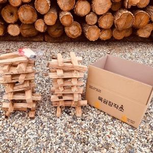 캠핑용 장작 참나무 장작 10kg