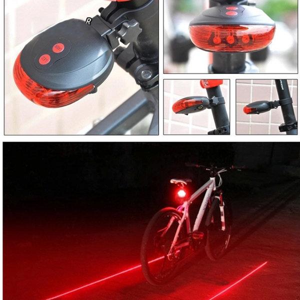 자전거 라이트 전조등 후레쉬 후미등 / 레이저 가이드
