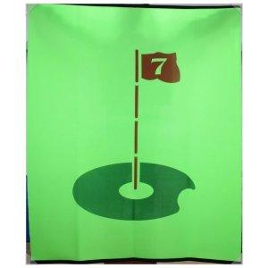 (무소음깃발/무소음과녁타켓) 골프연습장 골프타켓
