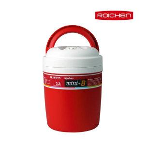 로이첸  미니비 보냉보온통 3.3L