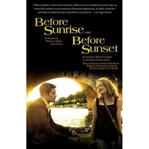 Before Sunrise and Before Sunset : Two Screenplays 비포 선라이즈   비포 선셋 대본집  Richard Link...