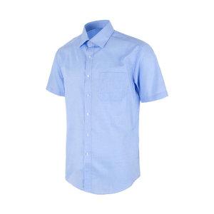다이아 소프트 블루 레귤러 반팔 셔츠_DW41-3