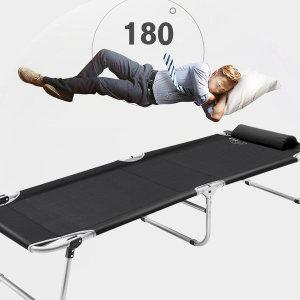 센시오 간이침대 접이식침대 침대의자 야전침대 간병