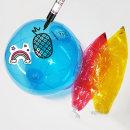 비치볼꾸미기(색상랜덤)/비치볼 그리기 물놀이공