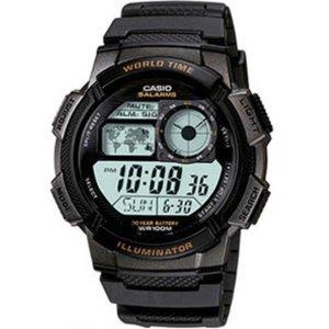 손목시계 시계 군인시계 전자시계 알람 AE1000W1A