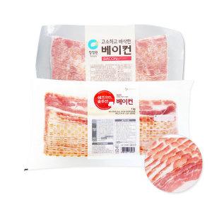 코리원/청정원 베이컨1kg/돼지고기/삼겹살/베이컨말이