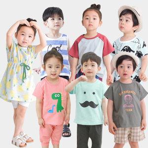 삼소니 유아복 상하복세트 맨투맨 티셔츠