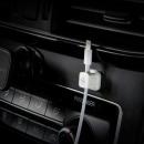 블랙-마그네틱 단선방지 차량용 케이블 선정리 홀더