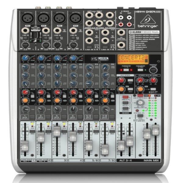 베링거 XENYX-QX1204USB 오디오믹서 아날로그믹싱콘솔