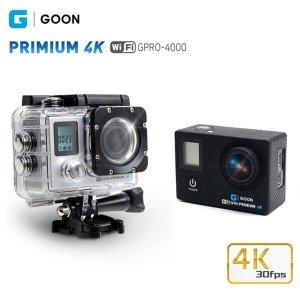 GPRO-4000 프리미엄4K액션캠 블랙 2가지 사은품 제공
