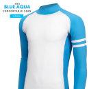 블루쿠아 스판티 남자 기능성티셔츠 여름 긴팔티셔츠