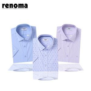 레노마셔츠   반소매 50종 19년신상품 일반 슬림